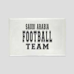 Saudi Arabia Football Team Rectangle Magnet