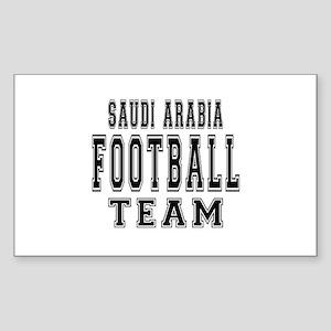 Saudi Arabia Football Team Sticker (Rectangle)