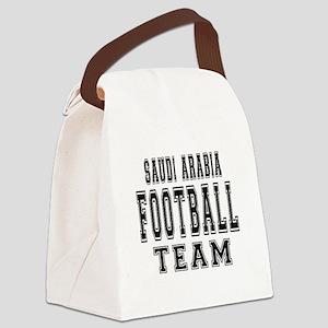 Saudi Arabia Football Team Canvas Lunch Bag