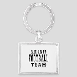 Saudi Arabia Football Team Landscape Keychain