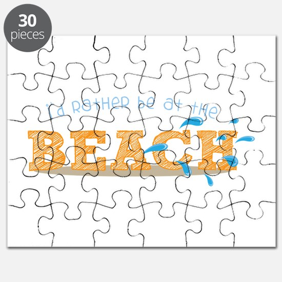 I'd rather be at the Beach Puzzle