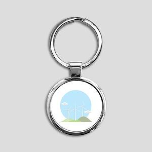 Wind Power Keychains