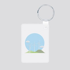 Wind Power Keychains