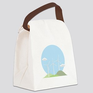 Wind Power Canvas Lunch Bag
