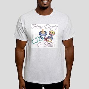 Deputy on Board Light T-Shirt