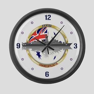 HMAS Arunta Large Wall Clock