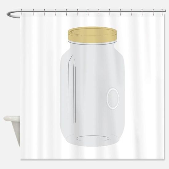 Mason Jar Shower Curtain