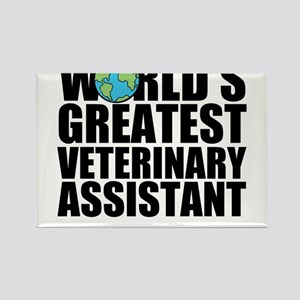 World's Greatest Veterinary Assistant Magnets