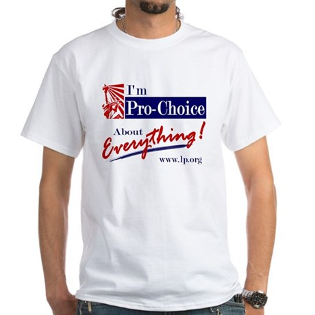 Pro-Choice White T-Shirt