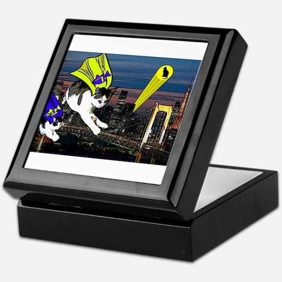 The Cat Signal Keepsake Box