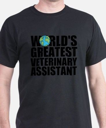 World's Greatest Veterinary Assistant T-Shirt