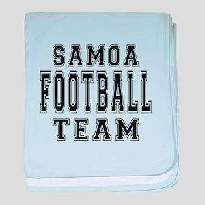Samoa Football Team baby blanket