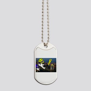 The Cat Signal Dog Tags