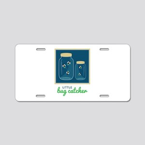 Little Bug Catcher Aluminum License Plate