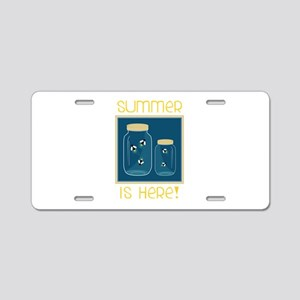 Summer Is Here! Aluminum License Plate
