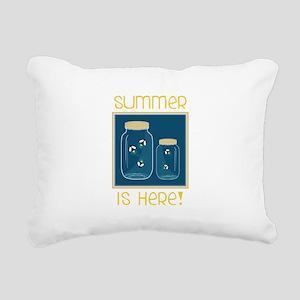 Summer Is Here! Rectangular Canvas Pillow