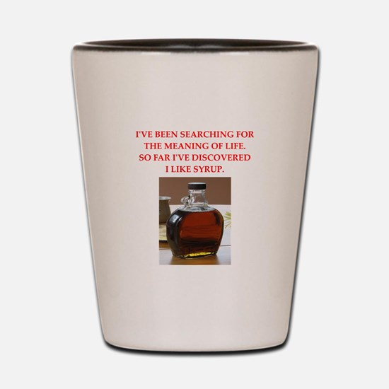syrup Shot Glass