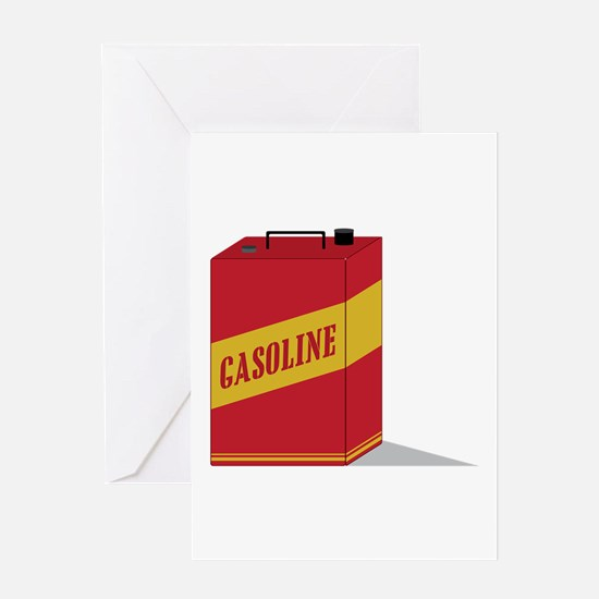 Gasoline Greeting Cards