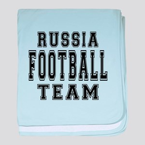 Russia Football Team baby blanket
