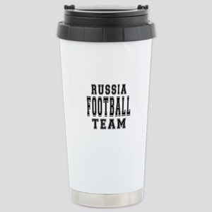 Russia Football Team Stainless Steel Travel Mug