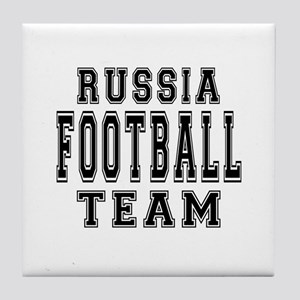 Russia Football Team Tile Coaster