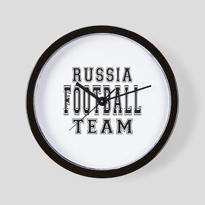Russia Football Team Wall Clock