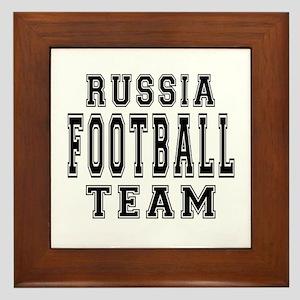 Russia Football Team Framed Tile