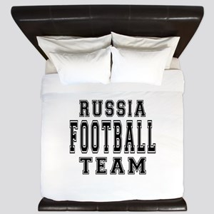 Russia Football Team King Duvet