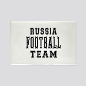 Russia Football Team Rectangle Magnet