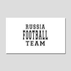 Russia Football Team Car Magnet 20 x 12