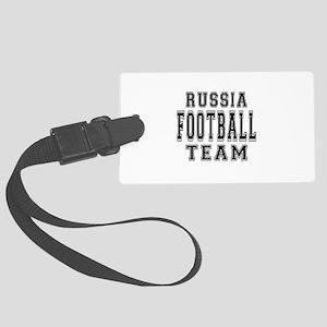 Russia Football Team Large Luggage Tag