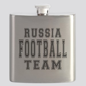 Russia Football Team Flask