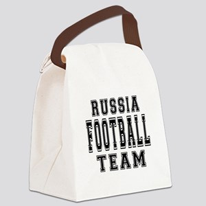 Russia Football Team Canvas Lunch Bag