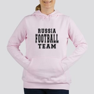Russia Football Team Women's Hooded Sweatshirt
