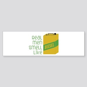 Real Men Smell Like Bumper Sticker