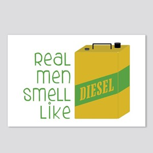 Real Men Smell Like Postcards (Package of 8)