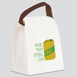 Real Men Smell Like Canvas Lunch Bag