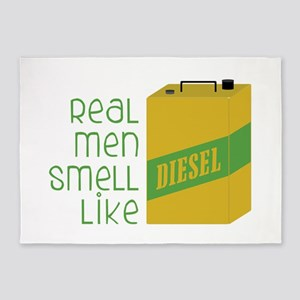 Real Men Smell Like 5'x7'Area Rug