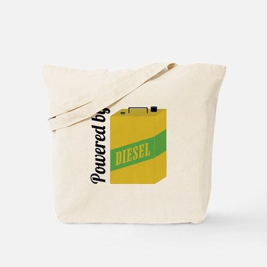 Powered By Diesel Tote Bag