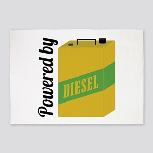 Powered By Diesel 5'x7'Area Rug