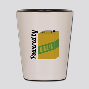 Powered By Diesel Shot Glass