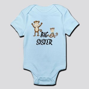 Big Sister Monkeys Body Suit