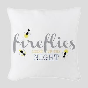 Light Up The Night Woven Throw Pillow