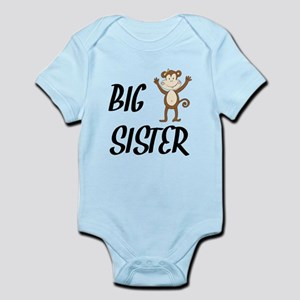 Big Sister Monkey Body Suit