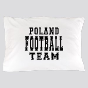 Poland Football Team Pillow Case