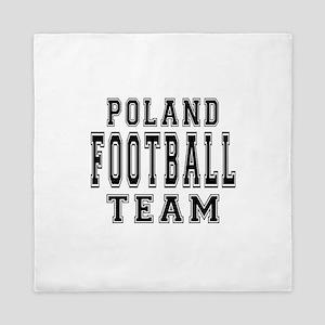 Poland Football Team Queen Duvet