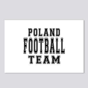 Poland Football Team Postcards (Package of 8)