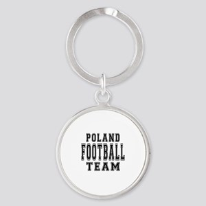 Poland Football Team Round Keychain