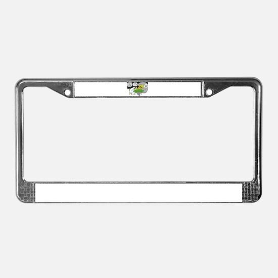 POLAR POKER2-CLUBS License Plate Frame