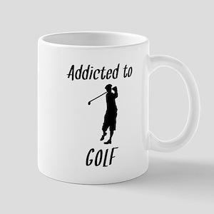 Addicted To Golf Mugs